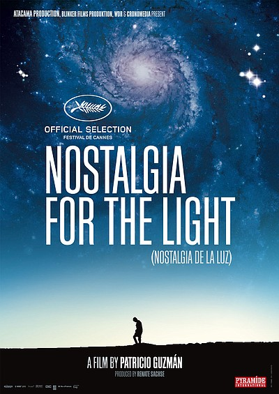 "Promotional graphic for the documentary, ""Nostalgia for t..."