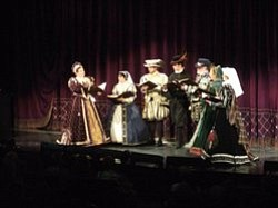 Image from the previous Celebrity Sonnets in 2011. Courtesy to the San Diego Shakespeare Society.