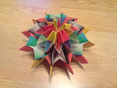 Promotional picture of Origami, paper art.