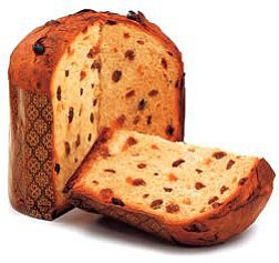 Promotional image of Panettone. A class being offered at Alchemy of the Hearth on December 8th.
