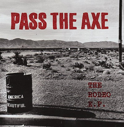 Promotional logo of Pass the Axe.