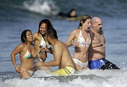 Promotional image of participants of the Polar Bear Plunge 2010.