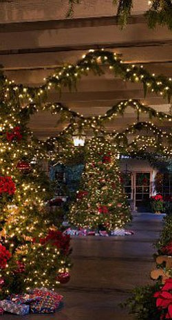 Image of the Christmas time at the Rancho Bernardo Inn. Courtesy to the Rancho Bernardo Inn