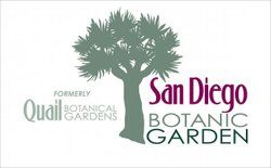 Graphical logo for the San Diego Botanic Gardens.