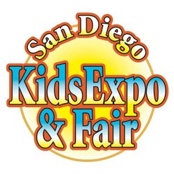 Promotional graphic for the San Diego Kids Expo & Fair: October 20 - 21, 2012 at the Del Mar Fairgrounds.