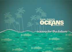 Promotional graphic for the San Diego Ocean's Foundation Benefit Gala 2012