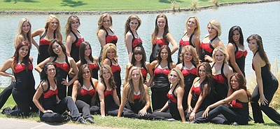 Promotional image of 2012-2013 SDSU Dance Team.
