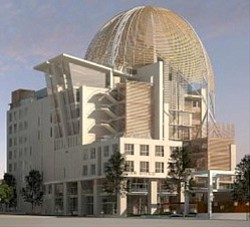 Exterior image of Central Library San Diego.