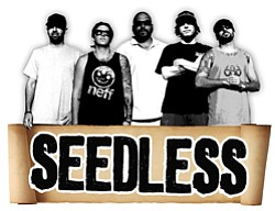 Image of the band Seedless.
