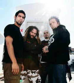 Band members for Soulfly.
