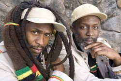 Image of Reggae, R&B band Steel Pulse.