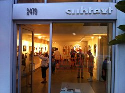 Exterior image of Subtext Gallery.