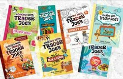 "Image of the books ""Cooking With Trader Joe's"" written by Deana Gunn and Wona Miniati."