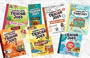 """Image of the books """"Cooking With Trader Joe's"""" written by..."""