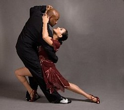 Image of couple dancing the Tango.
