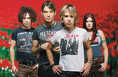 Image of The Dandy Warhols.