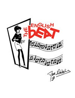 Graphical logo of The English Beat.