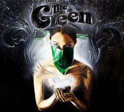 Graphical album cover of The Green.