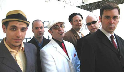 Image of The Slackers' band members.