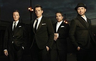 The Tenors. Courtesy of Bounce/PBS