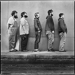 Image of the band, Trampled by Turtles.