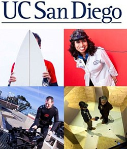 Promotional graphic for UCSD.