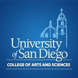 Graphical logo for the University of San Diego's College of Arts & Science.