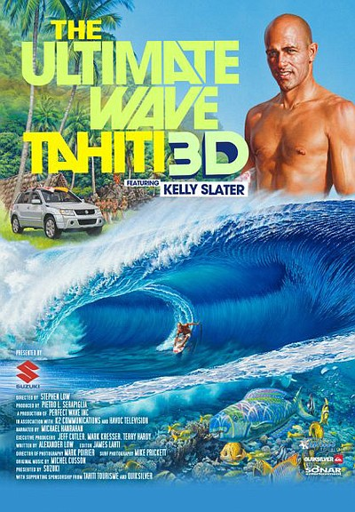 "Graphical flyer for ""Ultimate Wave Tahiti Trailer"""