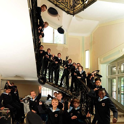 The Vienna Boys' Choir. Courtesy of Lukas Beck, Opus 3 Artists