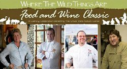 """Promotional graphic for """"Where The Wild Things Are"""" Food & Wine Classic at Chula Vista Nature Center on June 2nd."""
