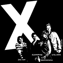 Image of X the band.