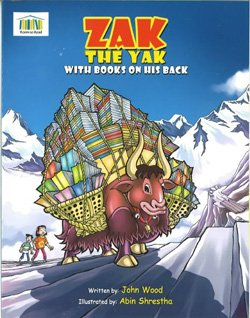 "Promotional book cover of ""Zak the Yak."""