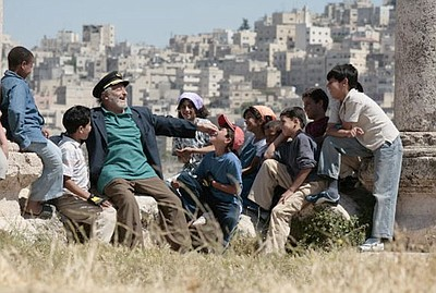 """Image from a scene of """"Captain Abu Raed"""" (2007) as part of the Coming of Age Film Festival hosted by the Museum of Photographic Arts"""