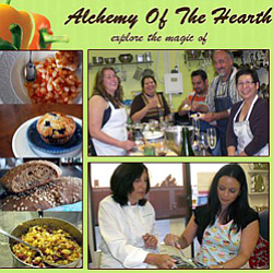 Promotional graphic for the Alchemy of the Hearth