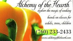 Graphic logo for Alchemy of the Hearth.