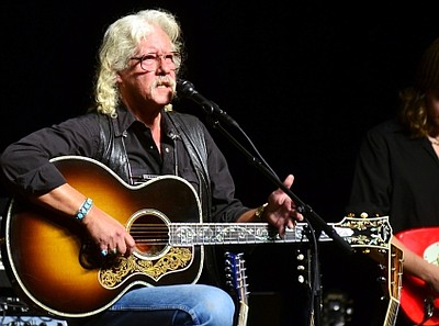 Image of Arlo Guthrie, who will be performing at the Balb...
