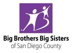 Graphic logo for Big Brothers Big Sisters of San Diego County