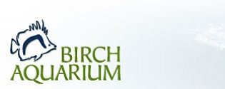 Logo of the Birch Aquarium at Scripps.