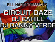 Promotional graphic for the San Diego Pride Parties 2012 ...