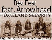 Promotional graphic for the 2nd Annual REZ Fest Featuring...