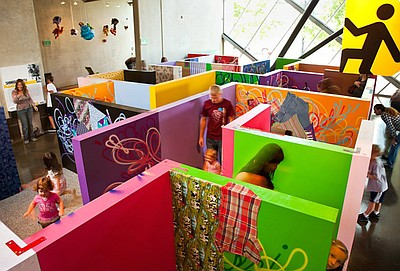 Promotional image of The New Children's Museum maze, loca...