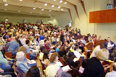 Image of people attending First Unitarian Universalist Ch...