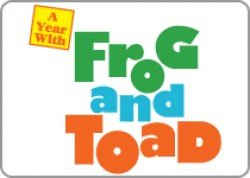 "Logo for ""A Year With Frog & Toad"""