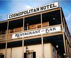 Exterior image of the Old Town Cosmopolitan Hotel and Restaurant.