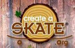 Graphical logo for Create-A-Skate.org.