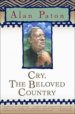 """Book cover of Alan Paton's """"Cry, The Beloved Country""""."""