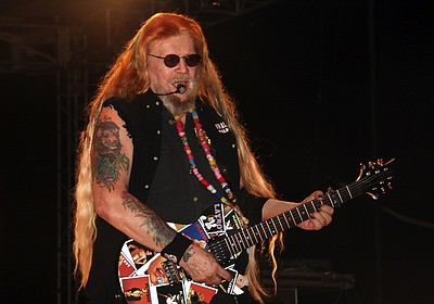 Image of country music legend, David Allan Coe
