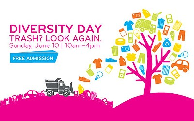 Promotional graphic for Diversity Day, June 10, 2012 from...