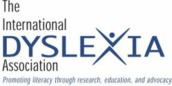 Graphic logo for the International Dyslexia Association