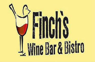 Graphic logo for Finch's Bistro and Wine.